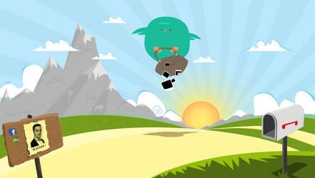 Big Birdie by mc-comic