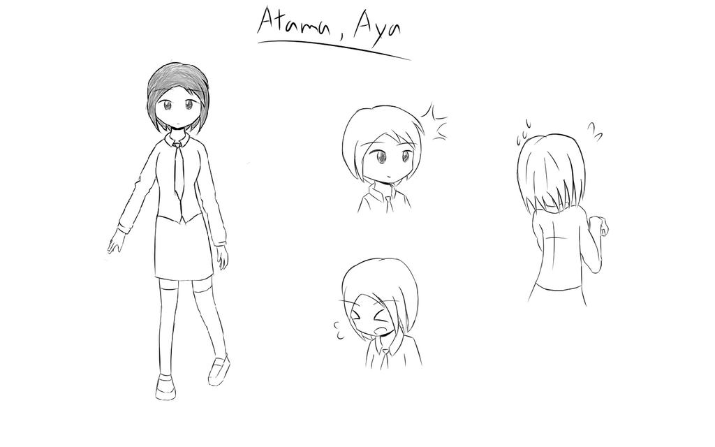 [GAMEOVER] Aya Atama by rkp102
