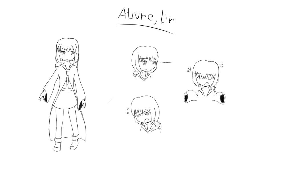 [GAMEOVER] Lin Atsune by rkp102