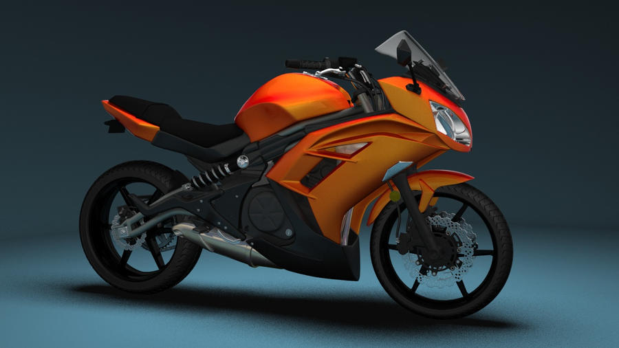 Kawasaki Ninja 650 - Orange by - 52.1KB