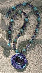 Dragon Spirit Flame Necklace by jemnisimi