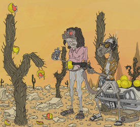 Shooting Grapefruits