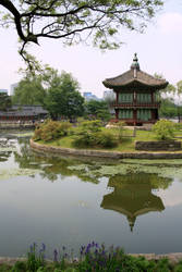 Hyangwonjeong Pavilion by danhough