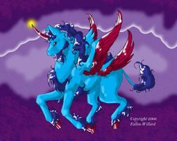 Unicorn by MagicKitsune