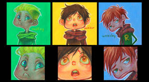 harry potter boys by curry23
