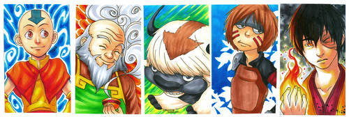 Avatar the last Airbender Card by curry23
