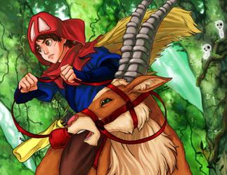 Princess Mononoke by curry23