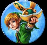 Zelda: Skyward Sword: Link Button