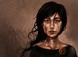 The Hunger Games - Katniss the Mockingjay