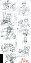 Sketches - Christmas Break Edition