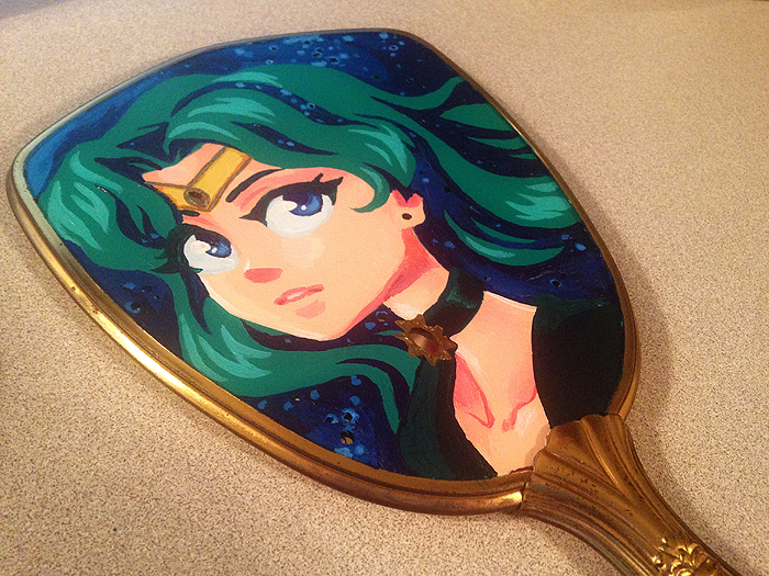 Sailor Neptune Mirror by curry23