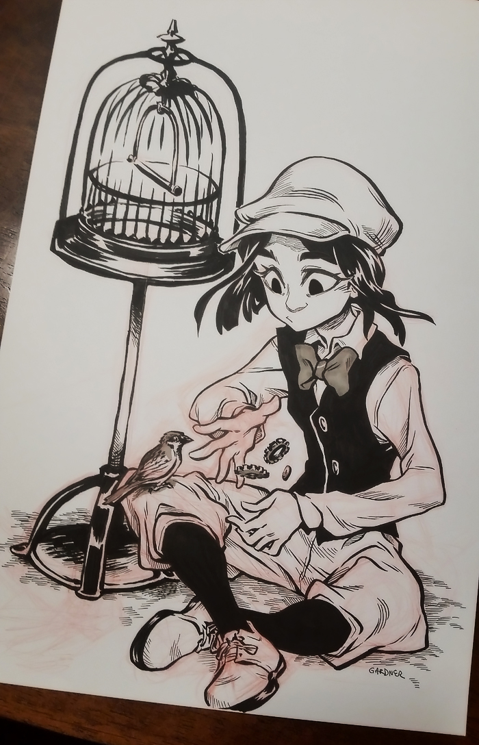 Inktober 2016 04 by curry23