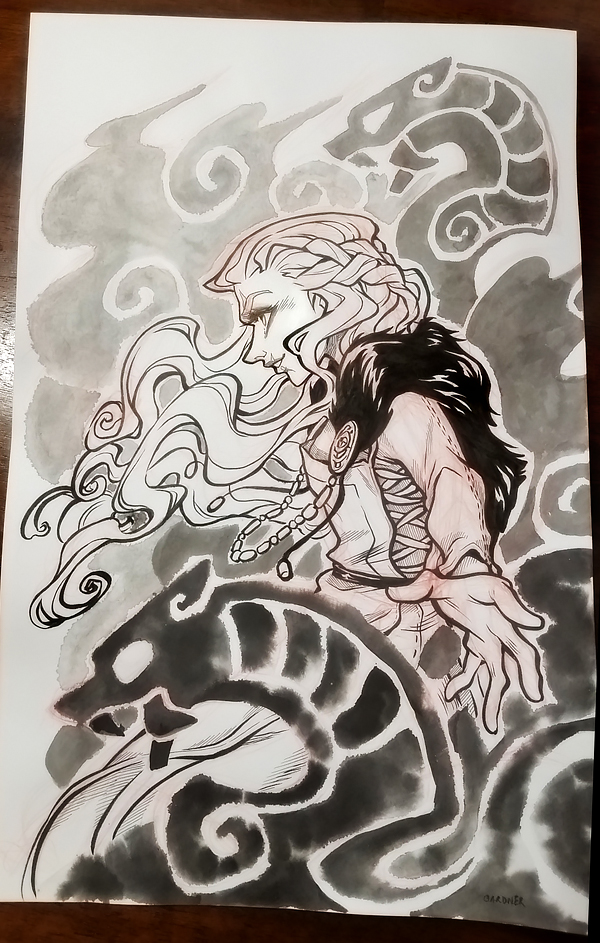 Inktober 2016 05 by curry23