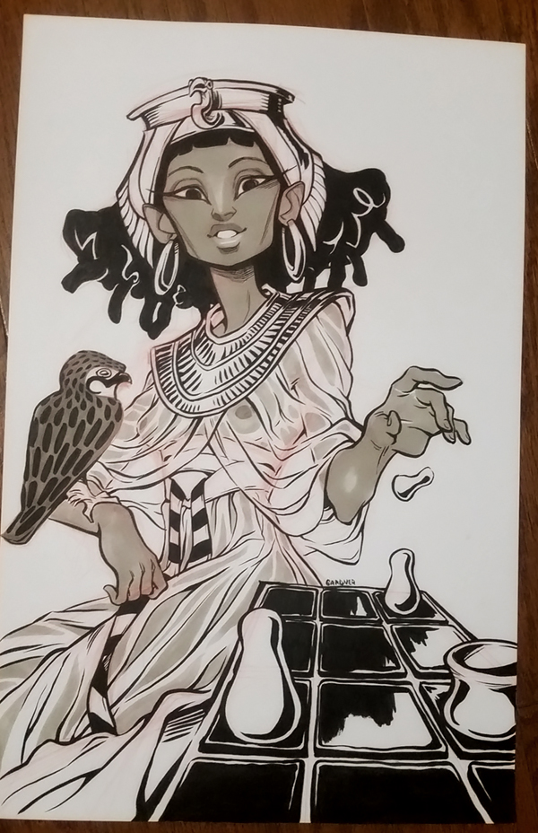 Inktober 2016 06 by curry23