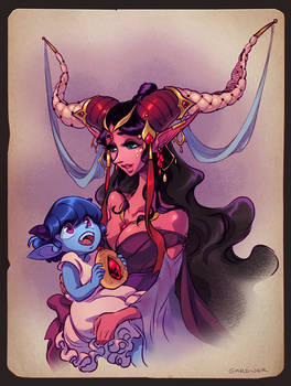 Critical Role - Jester and Momma