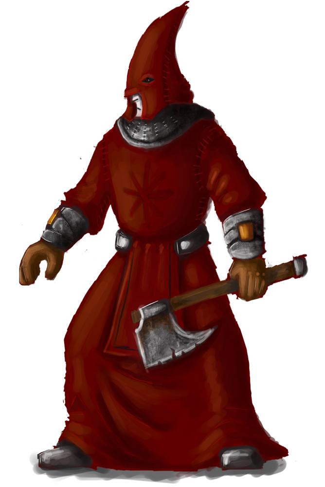 Mordheim Possesed member by Immhoshlakh