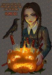 Wednesday Addams - Homicide