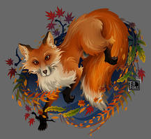 Sly Fox by Teo-Hoble