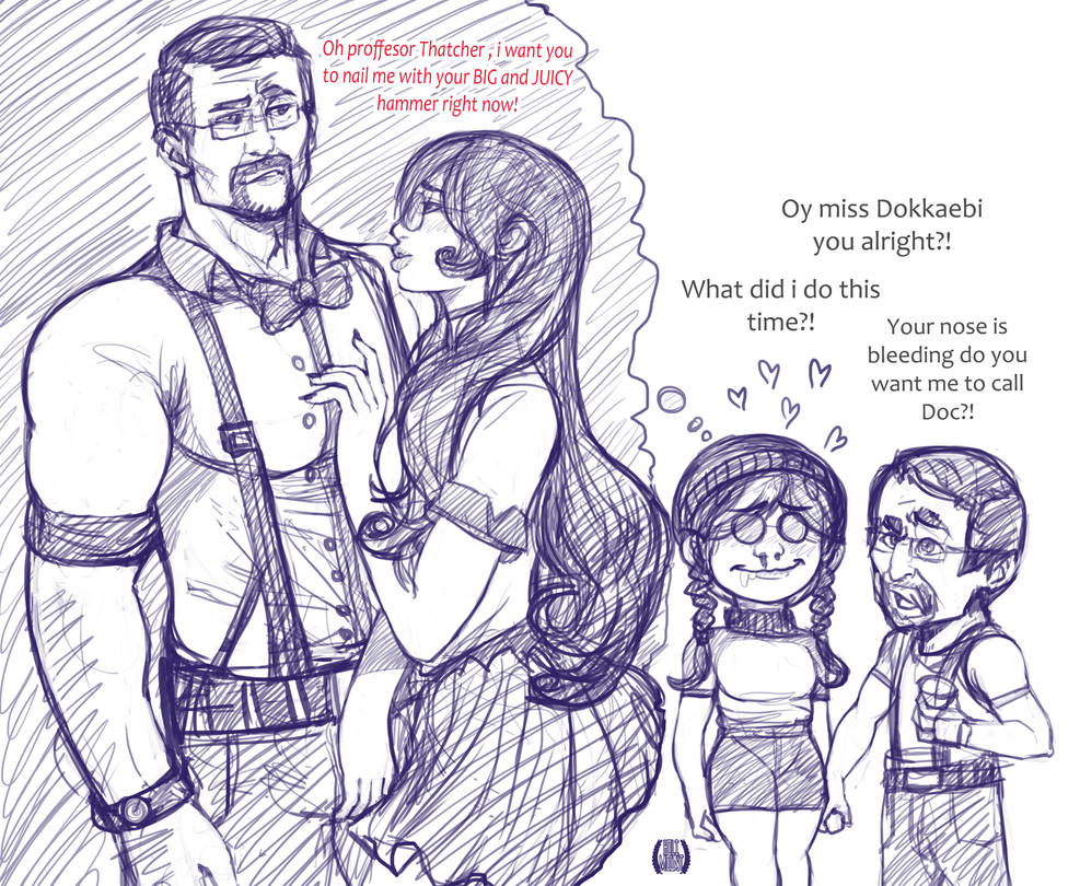 Dokkaebi dirty thoughts sketch by EICHH-EMMM