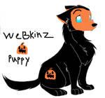 webkinz pumpkin puppy