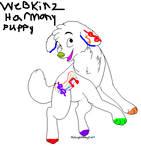 webkinz harmony puppy