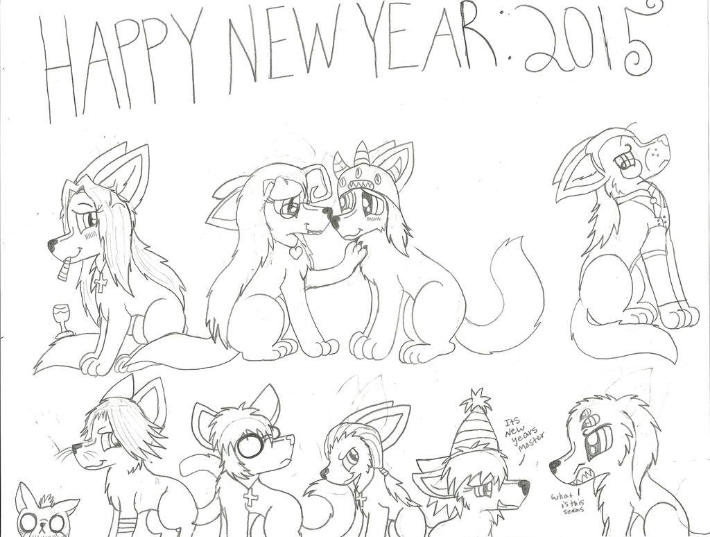 A Very Hellsing New Year by webkinzfun8