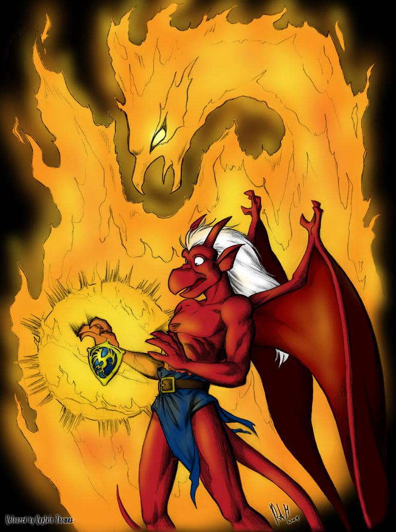 PGA : Phoenix Flame - Coloured by CaptainThomas