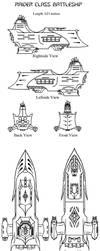 Raider Class Battleship by CaptainThomas