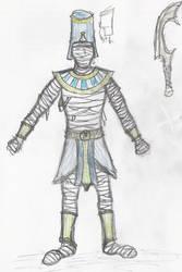 Mummy costume concepts by CaptainThomas