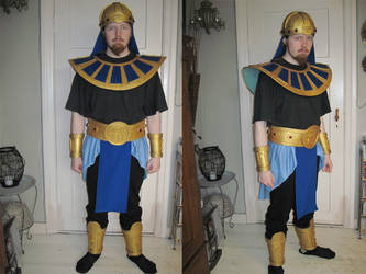 Egyptian costume by CaptainThomas