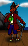 Kobold Sorcerer Pirate