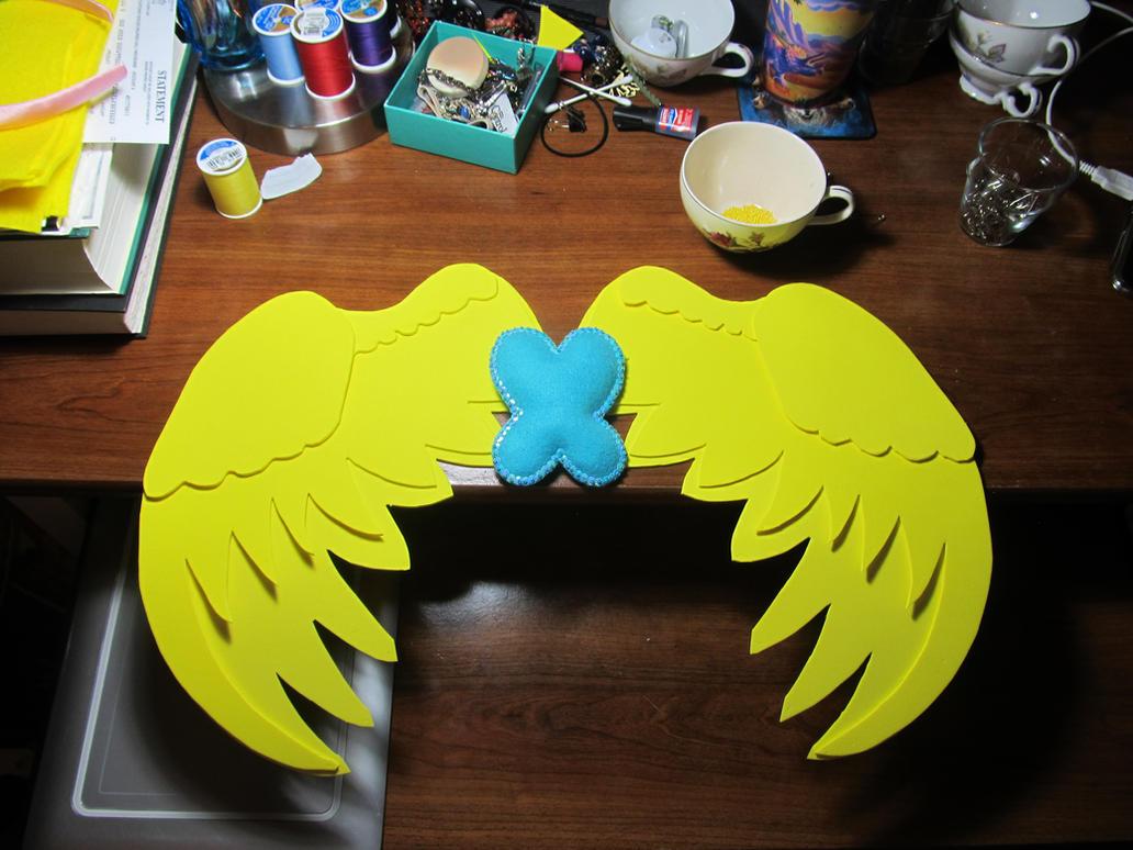 Fluttershy pegasus cosplay wings WIP by SatsubatsuNiwa ... & Fluttershy pegasus cosplay wings WIP by SatsubatsuNiwa on DeviantArt