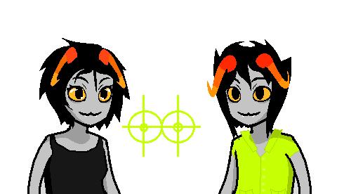 The Twins by Askthekindtrolls