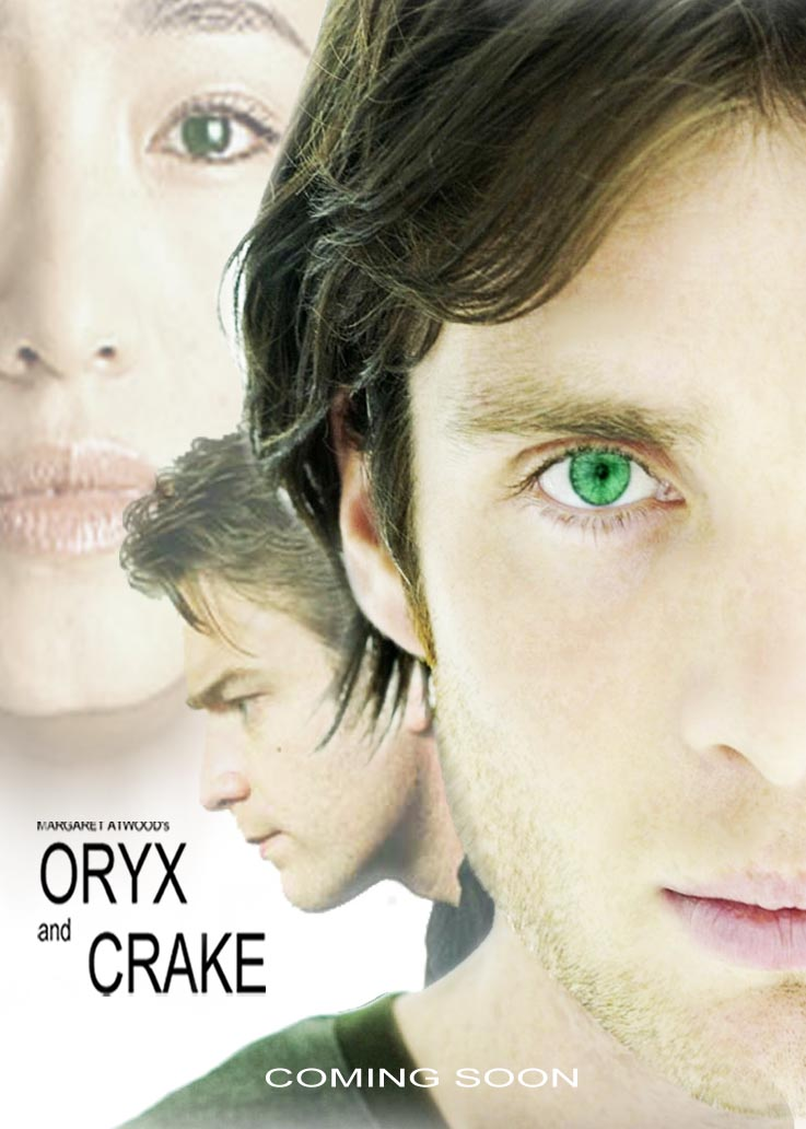 oryx and crake by mou s on  oryx and crake movie poster by shuikyou