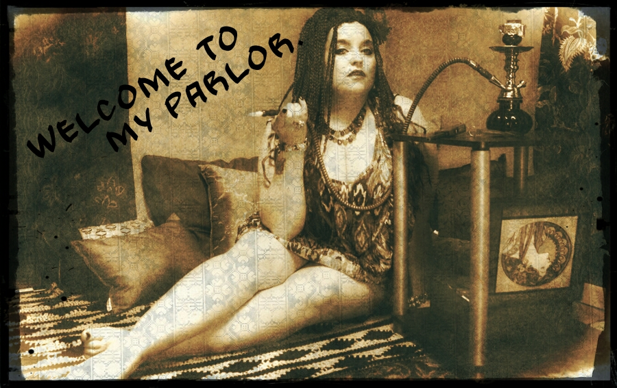 WELCOME TO MY PARLOR by SylviaSatanaii