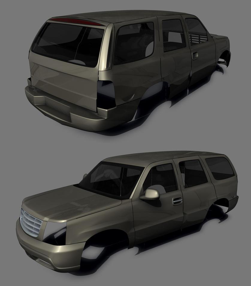 2005 Cadillac Escalade WIP2 by hmoob-phaj-ej on DeviantArt