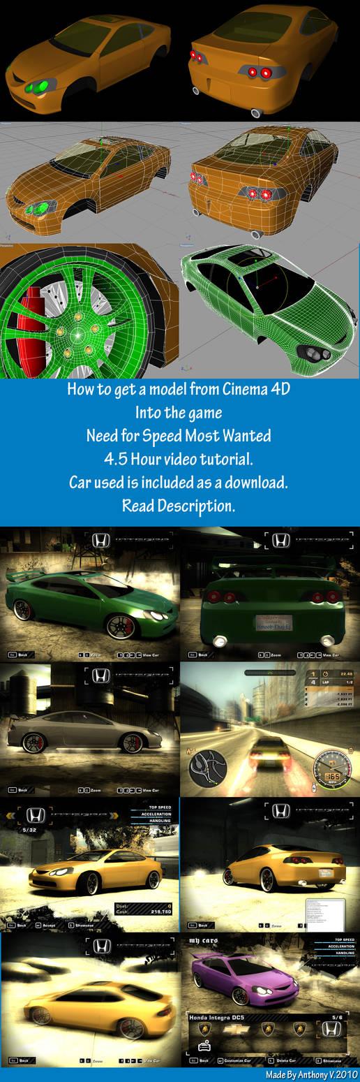 Get Car Model into NFSMW by hmoob-phaj-ej
