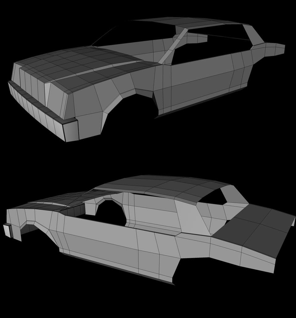 1980-85 Buick Skylark Coupe WIP1 by hmoob-phaj-ej
