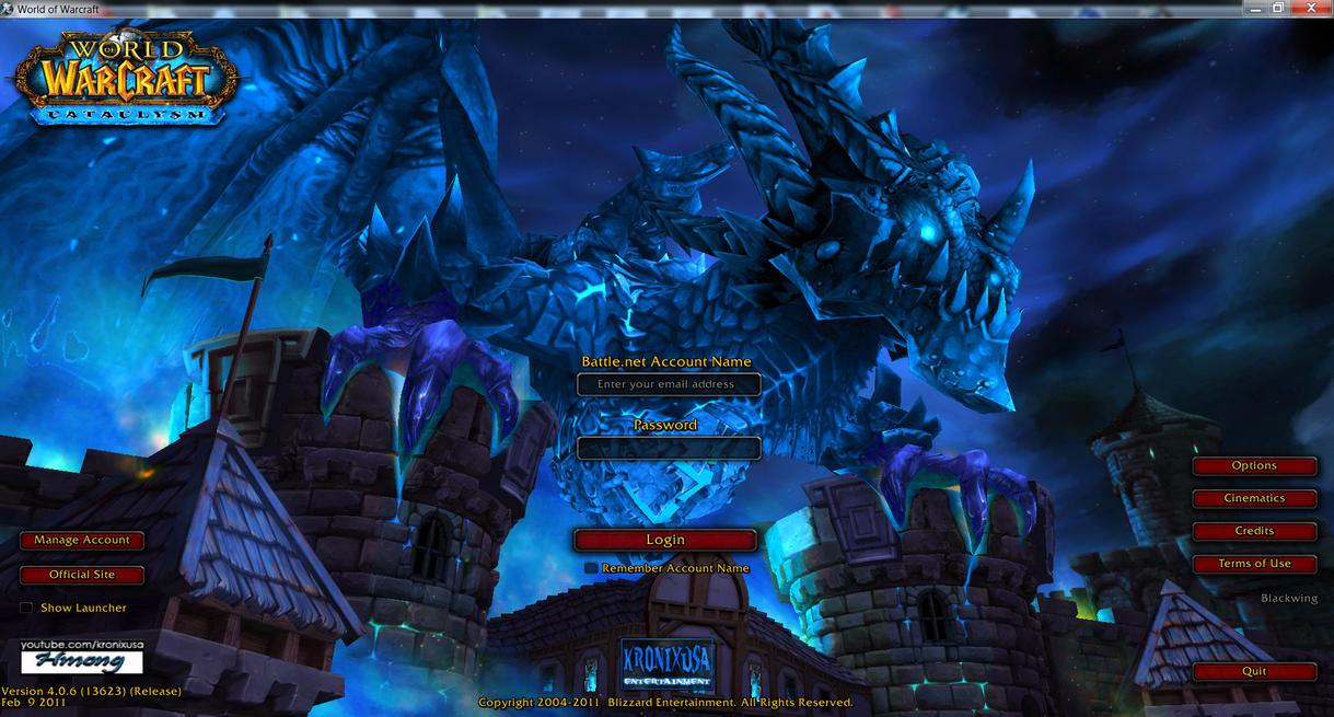 world of warcraft texture mod login screen by hmoob phaj ej on
