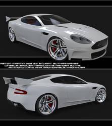 Aston Martin DBS Render WIP 1 by hmoob-phaj-ej