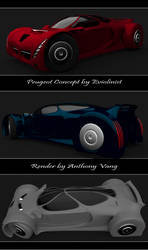 Eviolinist's Peugeot Concept Re-Render by hmoob-phaj-ej