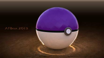 Pokeball Master Ball by hmoob-phaj-ej