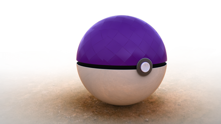 Masterball Original Render PNG with Transparency