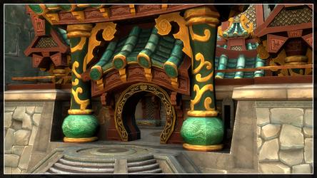 Jade Temple Wallpaper by hmoob-phaj-ej