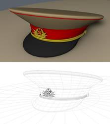 Soviet Union General Hat WIP by hmoob-phaj-ej