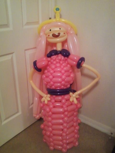 Princess Bubblegum Balloon by NoOrdinaryBalloonMan