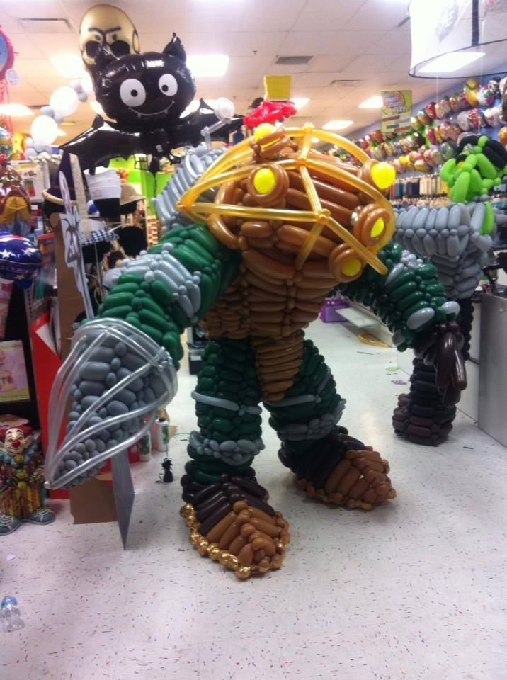 Big Daddy Balloon Cosplay by NoOrdinaryBalloonMan