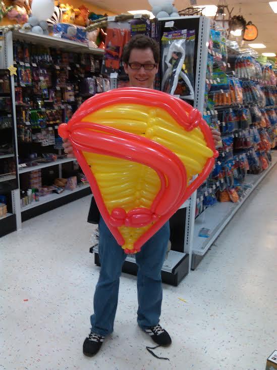 Balloon Superman Logo by NoOrdinaryBalloonMan