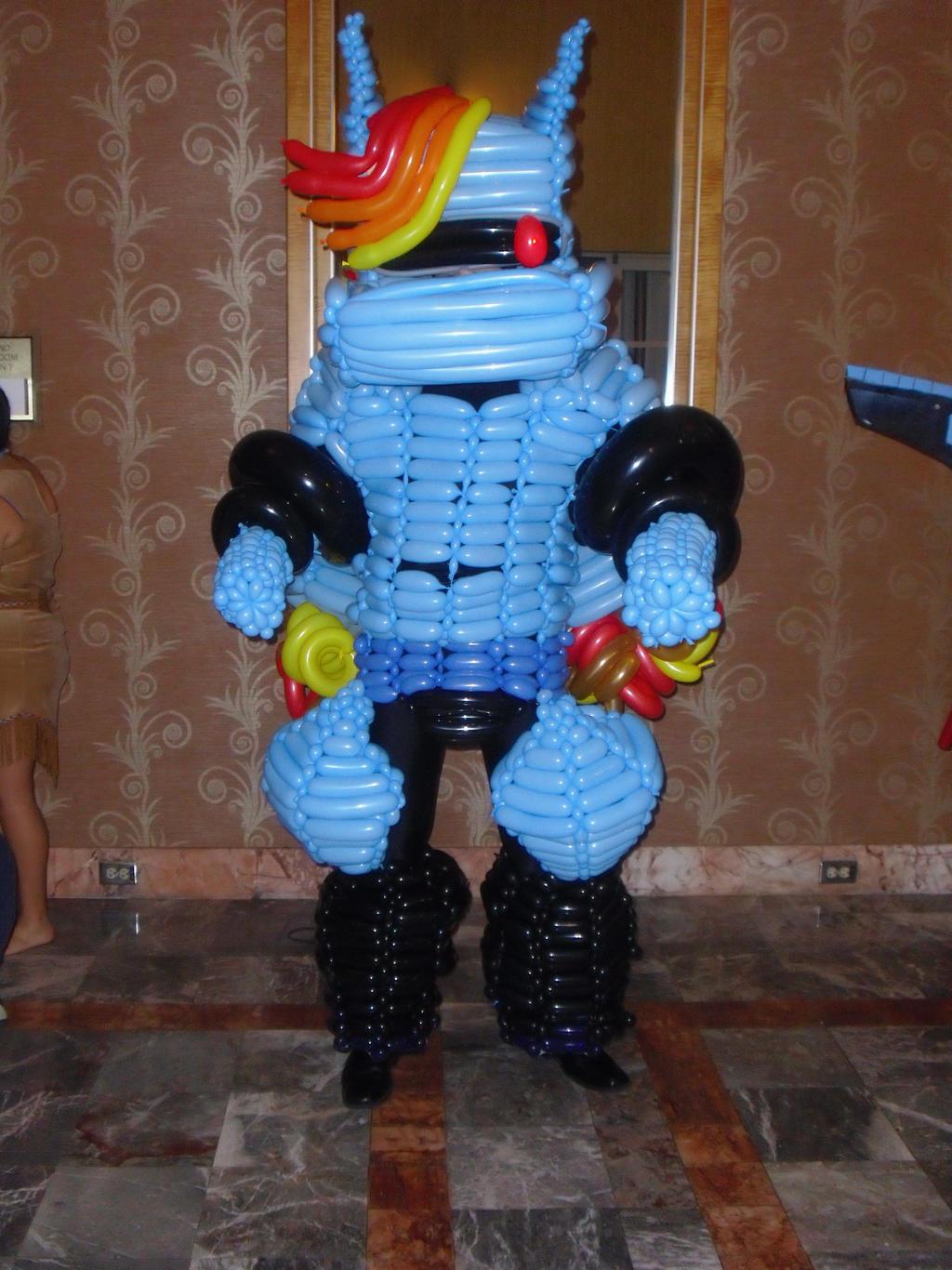 R Dash 5000 Balloon Cosplay
