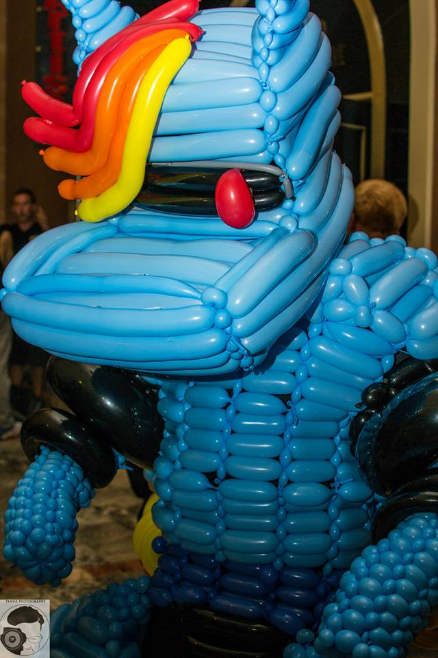 R Dash 500 Balloon Cosplay 3 by NoOrdinaryBalloonMan